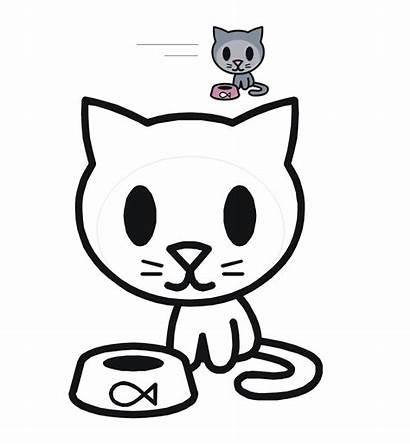 Coloring Pages Animal Cats Cat Diposting Oleh
