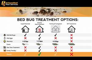 bed bug treatment comparison explaining the different With bed bugs and heat