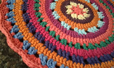 tapete redondo 70 cm mandala colorido croch 234 fio de malha no elo7 d paula ateli 234 a3ee6e