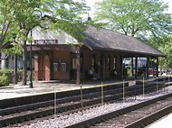 Lake Forest IL Train Station