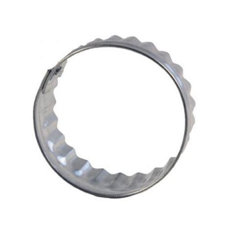 emporte rond cuisine découpoir rond ondulé 4 5cm emporte pièce cercle ondulé