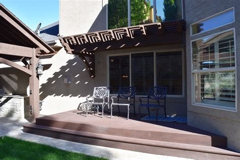beautiful timeless  world pavilion awning family haven western timber frame
