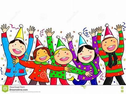 Happy Christmas Children Greetings Merry Season Greeting