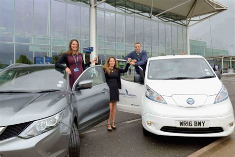 Bristol Airport Invests In Second Nissan E-nv200