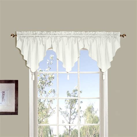 valance curtains walmart united curtain westwood valance walmart