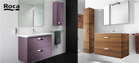 meubles de salle de bains gamme roca