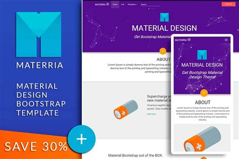 material design bootstrap materria bootstrap themes