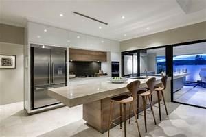 Maison Moderne De Luxe Interieur Cuisine