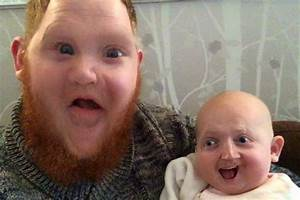A dad made hilariously disturbing face swaps with his new ...