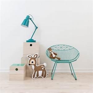 Lampe Bureau Enfant : lampe metal sebra gris lampe enfant ~ Teatrodelosmanantiales.com Idées de Décoration