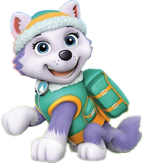 everest jumping paw patrol clipart png everest sticker by paw patrol Unique