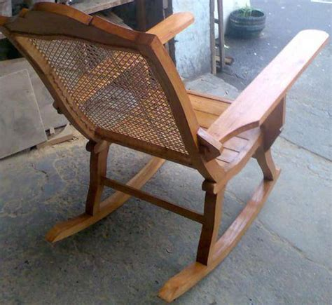 wood furniture rocking chair with solihiya for sale from