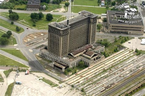 Michigan Central Rail Road Station