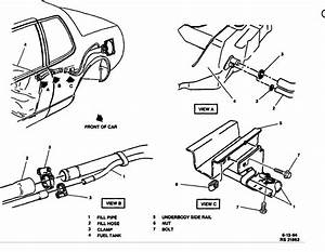 Fuel Pump Location  Where Is Fuel Pump For 1994 Cadillac
