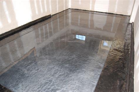 Metallic Epoxy Stamped Slate Floor by Witcraft Decorative