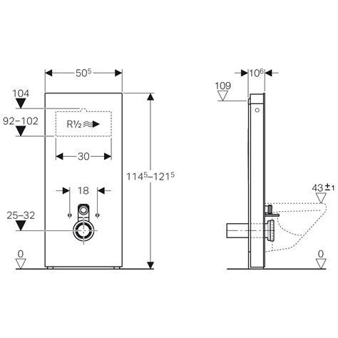 geberit monolith montageanleitung geberit monolith sanit 228 rmodul f 252 r wand wc 114 cm mit anschlussstutzen wasseranschluss hinten