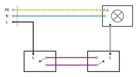 lichtschalter anschließen 3 adern basiswissen mit schaltplan wechselschaltung tipps vom