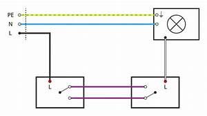 Wie Funktioniert Bewegungsmelder : basiswissen mit schaltplan wechselschaltung tipps vom elektriker elektroinstallation ~ Markanthonyermac.com Haus und Dekorationen