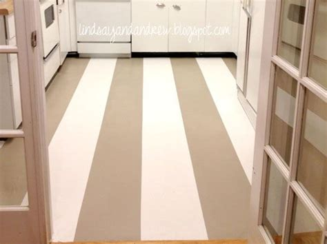 linoleum flooring paint painting a linoleum floor gives the kitchen a cheap face lift get the how to from lindsay
