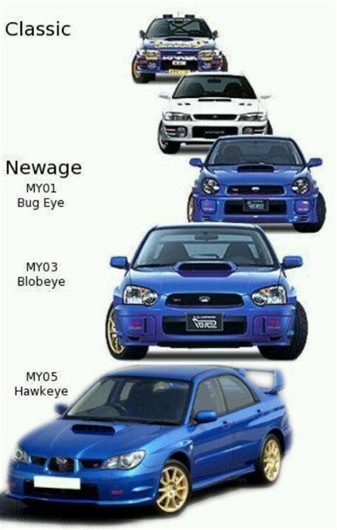 subaru eyes subaru impreza wrx sti these model years only pertain to