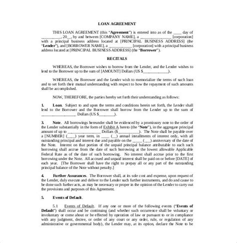 simple interest contract form sle loan contract template pdf 23 simple contract
