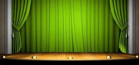 green stage promotions simple background green stage