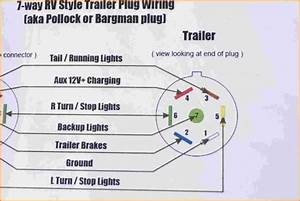 7 Pin Round Trailer Wiring Diagram