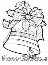 Coloring Bells Jingle Printable Bell Til Kleurplaten Sheets Tegninger Kerstmis Traditioneel Jule Colouring Fastseoguru Getcolorings sketch template