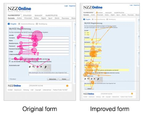 practical tools to improve web forms