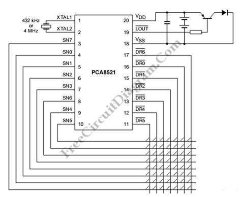 Infrared Remote Control Transmitter Circuit Diagram World