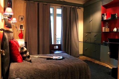 exemple chambre adulte déco chambre adulte marron vert