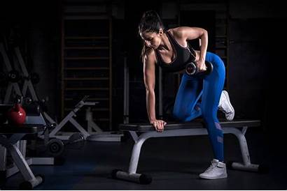 Fitness Working Gyms Wallpapers Weightlifting Woman Bowflex