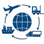 Logistics Icon Global Transportation Icons Shipping Supply