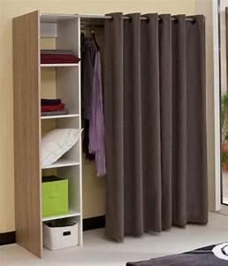 Solution Dressing Pas Cher : tringle telescopique pour penderie maison design ~ Premium-room.com Idées de Décoration