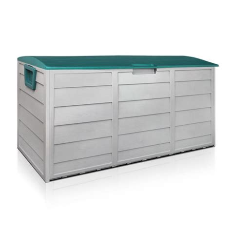 green outdoor storage box  large capacity