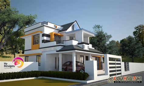 3 Bedroom 2 story house Design  Kerala House Plans