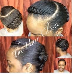 Goddess Twist with Braids Pinterest