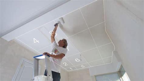 comment peindre un plafond comment peindre un plafond sans traces peinture et