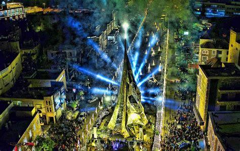 jbeil byblos unveils  christmas tree