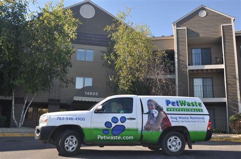 commercial services pet waste professionals  dfw