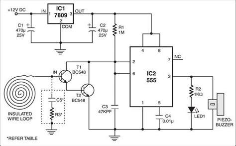 auto reset proximity detector technol 243 gie circuit diagram electronics electronics basics