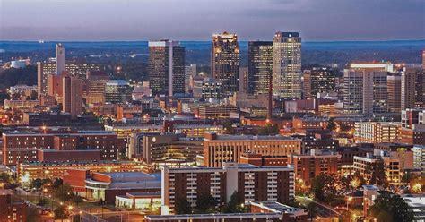 Birmingham Wonderful English City Skyline At Dusk England ...
