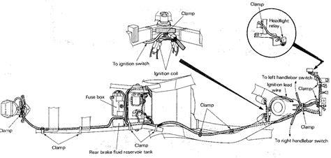 Suzuki Service Schematic Cable Routing Wire