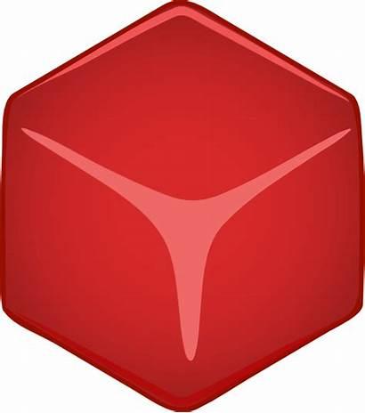 Cube 3d Clipart Vector Clip Cubo Shape