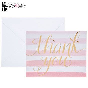 Looking for hobby shops near your location? Pink & White Striped Thank You Cards | Hobby lobby wedding invitations, Hobby lobby christmas ...