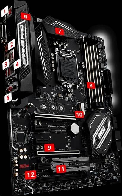 Msi Gaming Z270 Carbon Intel Motherboard Computer