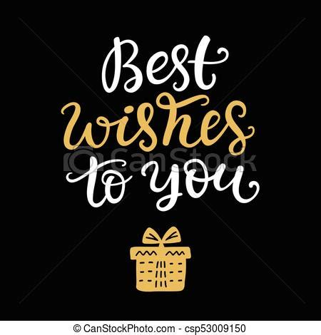 best wishes phrase best wishes to you phrase lettering best