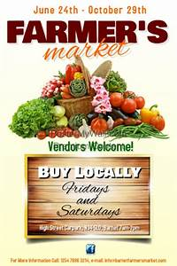 Farmers market poster template | PosterMyWall
