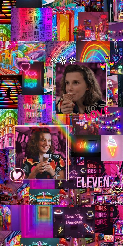 millie bobby brown things aesthetic wallpapers