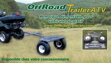 Boat Trailer Rentals In Ct by Road Trailer Atv Sainte Foy Qc Ourbis